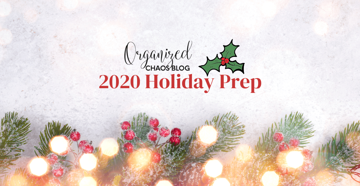 Holiday Prep | 11 Ways to Plan Ahead