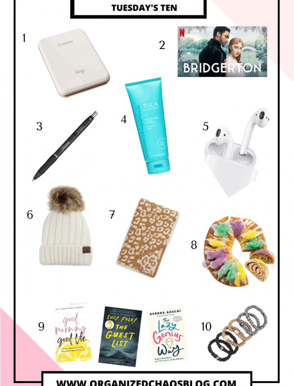 January Favorites | Tuesday's Ten