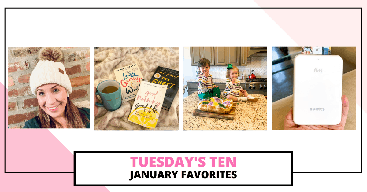 The first month of the new year is already over! How is this possible? It was a great month, and I have some fun new products I've been loving. Between Christmas gifts and a few of my own purchases, I'm sharing some of my January favorites with you today.
