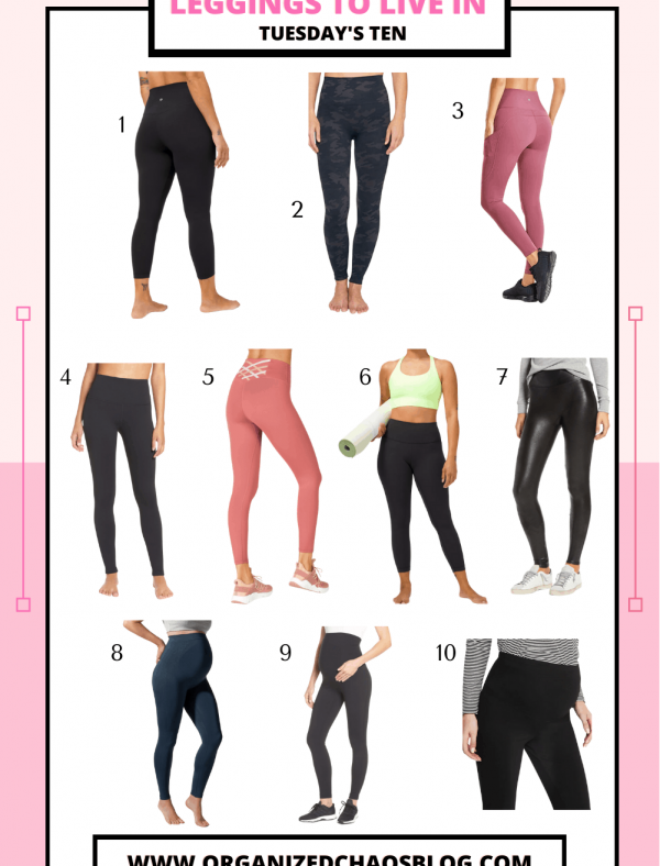 Leggings You Can Live In | Tuesday's Ten