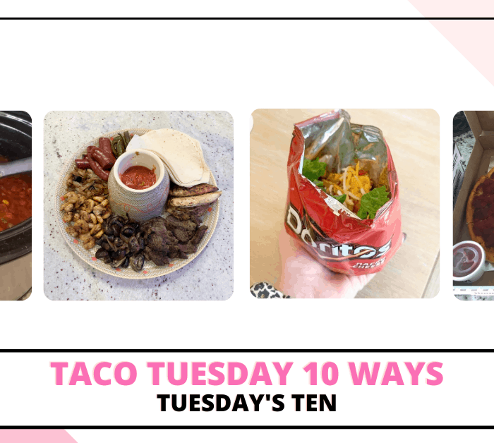 When it comes to dinner, one night of the week that our entire family loves is Taco Tuesday! You can't go wrong when you combine meat, cheese, tortillas, chips, and salsa! We usually have some variation of tacos at least once a week since it's so easy to prepare and everyone enjoys it. Today I'm sharing ten of our family's favorite recipes for Taco Tuesday meals.
