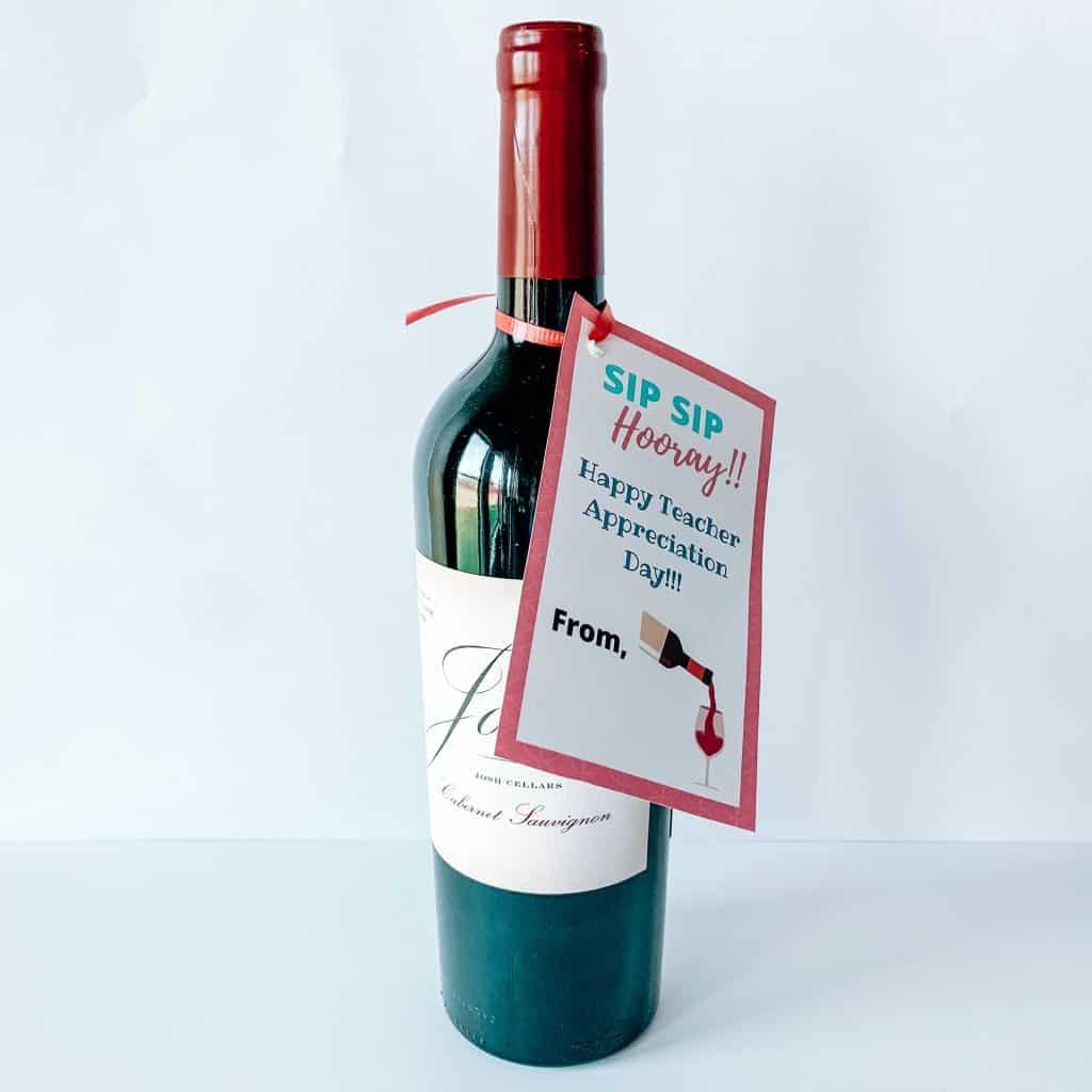 Teacher Appreciation Gift Ideas- Sip Sip Hooray!