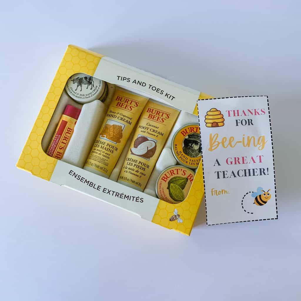 Teacher Appreciation Gift Ideas- Thanks for Bee-ing a Great Teacher!