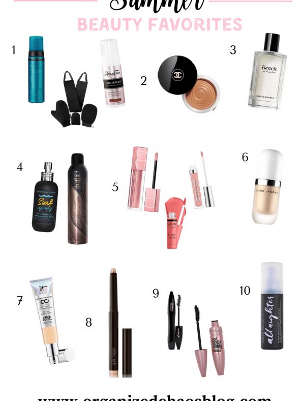 Summer Beauty Essentials | Tuesday's Ten