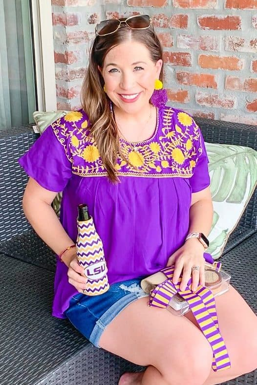 LSU Game day Outfits
